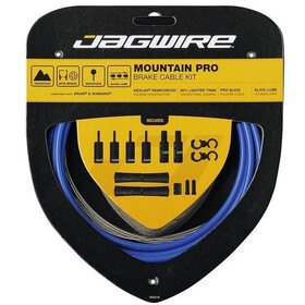 Jagwire Mountain Pro Brake Cable Kit, sid-blue